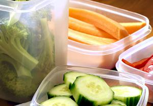 سبزیجات خام از چربی سوزهای طبیعی