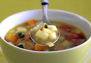 سوپ یک ماده غذایی ضد اشتها