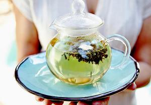 چای سبز و محتوای کافئین کم