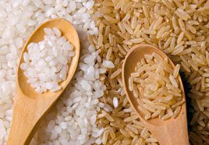 نکته نهم: جایگزینی برنج قهوهای به جای برنج سفید