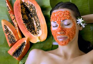 پاپایا (انبه هندی) برای درمان جوش صورت 2