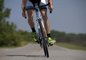 دوچرخه سواری زیاد