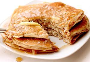 پنکیک پروتئین یکی از صبحانه های خوشمزه