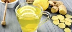 طرز تهیه دتاکس لیمو ، عسل و زنجبیل