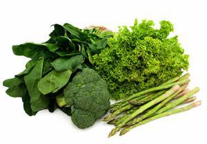 سبزیجات برگ سبز پهن از مواد غذایی ضد سرطان