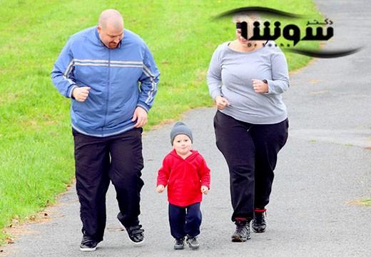 چاقی والدین و افزایش خطر تأخیر رشد در کودکان
