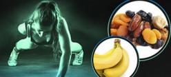 قبل، بعد و موقع ورزش چه بخوریم