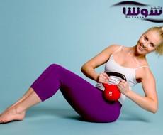 کاهش سایز کمر و پهلو با چند حرکت ورزشی ساده