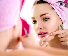 درمان جوش صورت برای پوست چرب