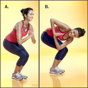 اسکوات چرخشی از حرکات ورزشی جدید برای عضلات پا و شکم - دکتر سوشا