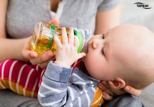 آبمیوه برای نوزادان تا یک سالگی ممنوع
