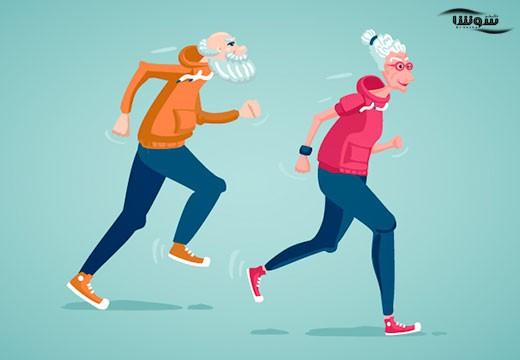 آیا ورزش کردن باعث تاخیر در پیری می شود