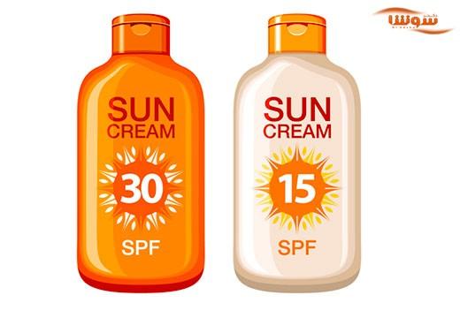 مصرف کرم ضد آفتاب با لوازم آرایشی حاوی SPF