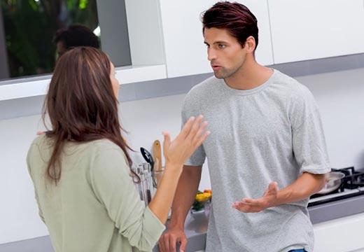 عکسالعمل شما نسبت به عصبانیت شوهر تان هم است