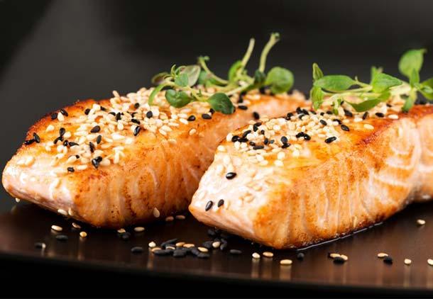 ماهی در رژیم غذایی دکتر سوانک