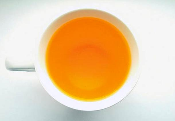 آب پرتقال برای طعم دادن به قهوه
