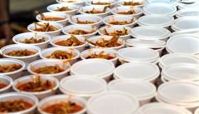 مشکلات غذای نذری در ظروف یکبار مصرف