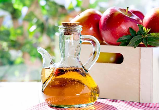 سرکه سیب برای لاغری شکم
