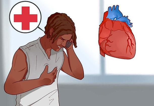 حمله قلبی بعد از زلزله