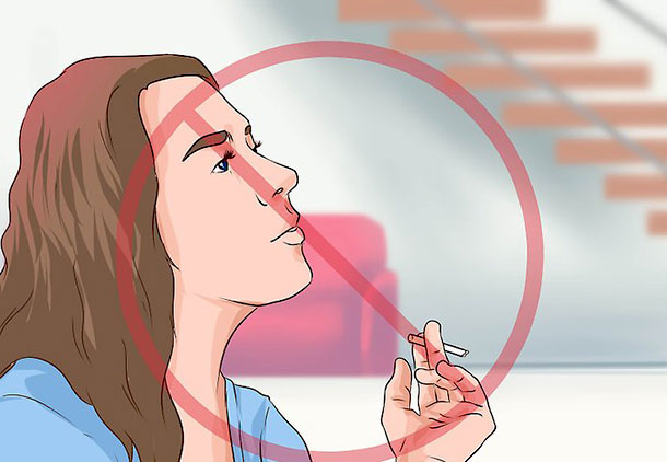 اجتناب از سیگار نکشید برای مراقبت بعد از کاشت مو