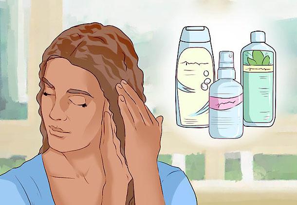 اجتناب از محصولات مراقبت از مو برای مراقبت بعد از کاشت مو