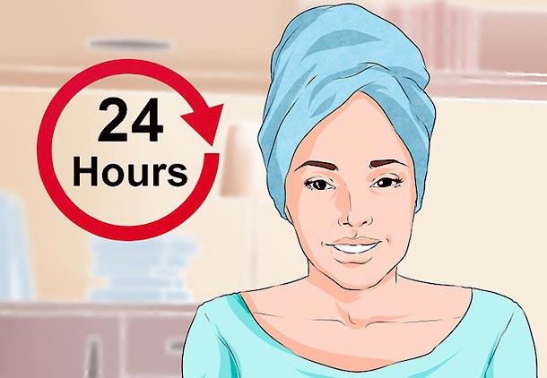 مراقبت بعد از کاشت مو با بانداژ سر