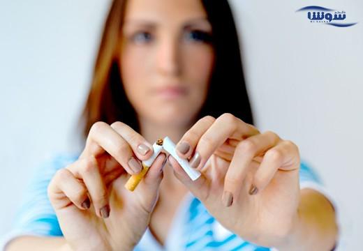 خطرات ترک سیگار