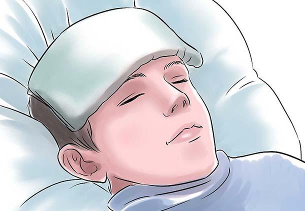 درمان سریع میگرن با کمپرس سرد