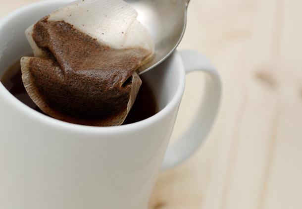 درمان دندان درد شدید با چای کیسهای
