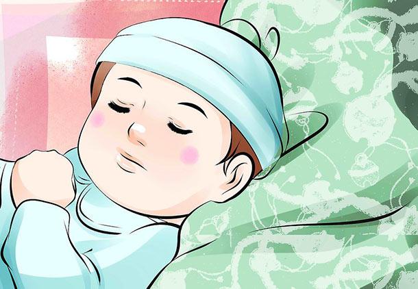 به نوزادتان کمک کنید تا به خوبی استراحت کند.