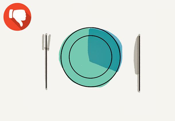 باور غلط شماره 13 در مورد کاهش وزن : برای کاهش وزن بهتر است وعدههای غذایی بیشتر و کمحجمتر بخورید!