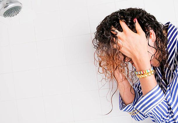 هر روز موهایتان را نشویید.