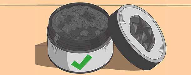 سفید کردن دندان : خریداری پودر زغال فعال از عطاری یا داروخانه