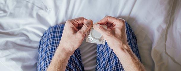 استفاده از کاندوم مانع خارش آلت تناسلی می شود