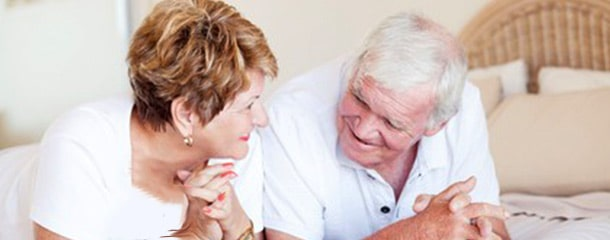 رابطه جنسی سالمندان : لذت بردن از تماس جنسی